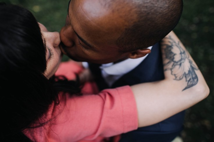 A couple kissing  There are (at least) 14 different kinds of love described in the world's languages a couple kissing