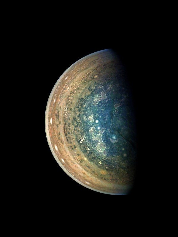 Jupiter's south pole: Nasa's latest release shows ...