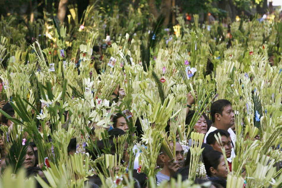 Image result for People Waving Palm Branches Palm Sunday Jesus