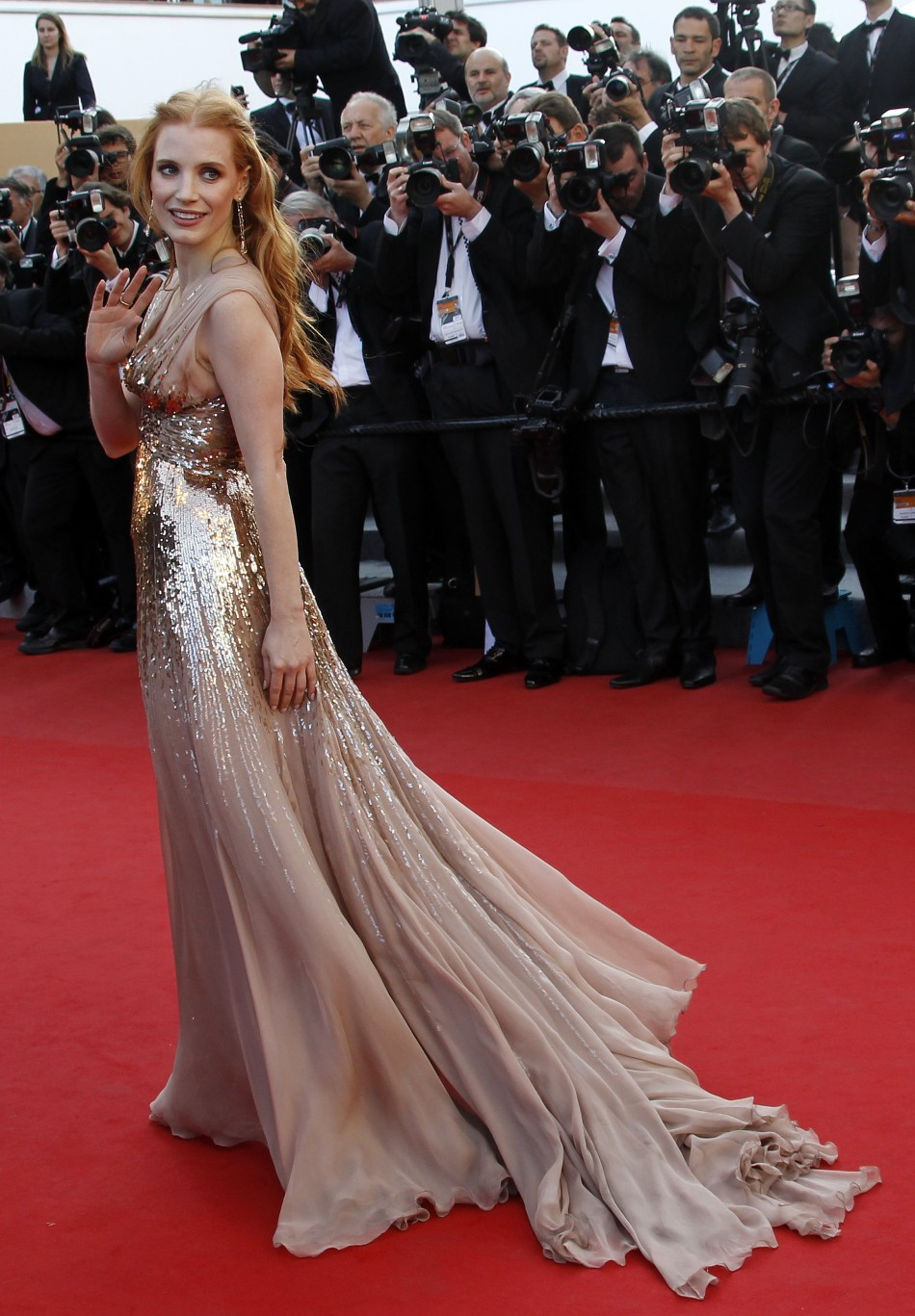 Cannes Film Festival 2012 Jessica Chastain Charms And