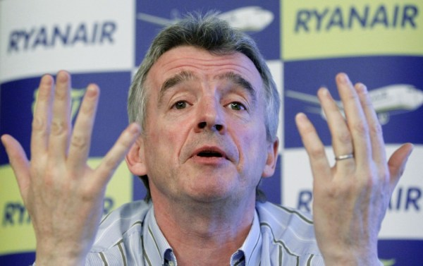 Ryanair boss Michael O'Leary is the latest entry in the ...
