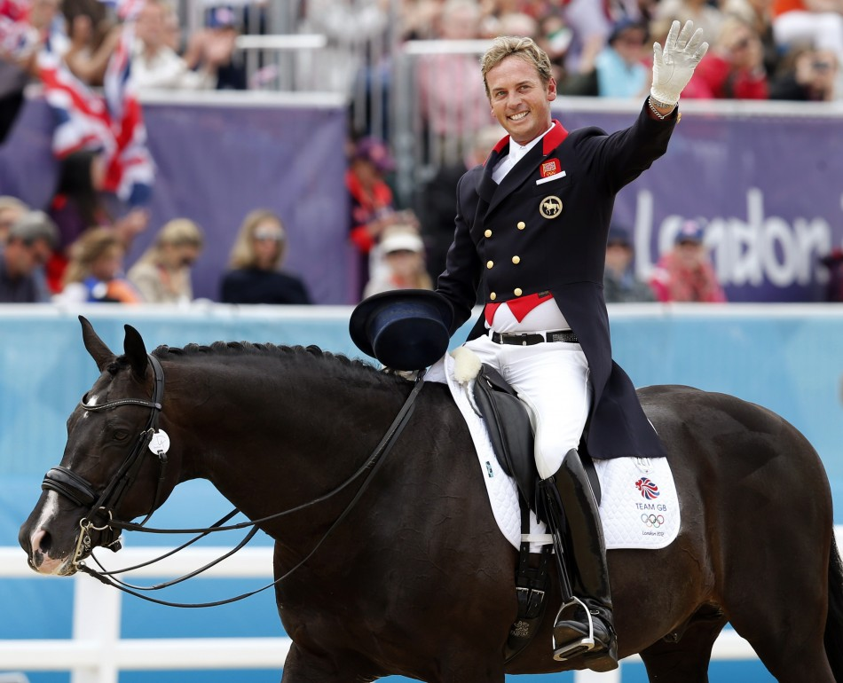 London Olympics 2012 Team Gb S Winning Horses Uthopia And