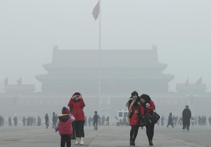 China s Air Pollution  Coming Back to Haunt  Parts of US