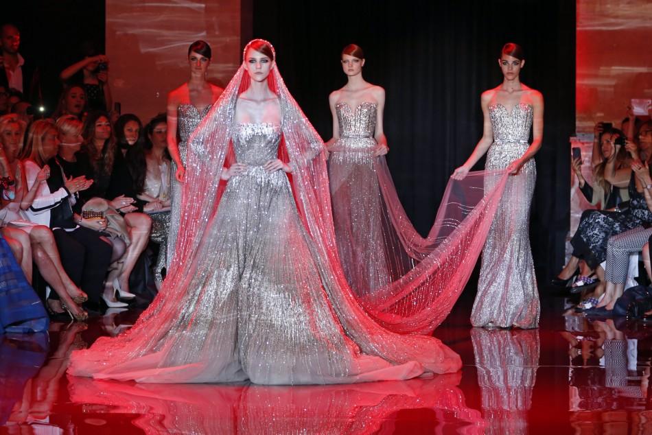 Paris Fashion Week 2013 Elie Saabs Royal Touch Creates