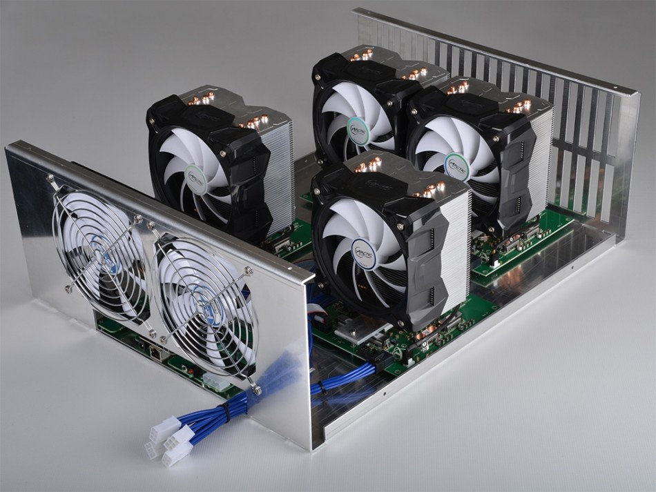 Most Powerful Bitcoin Mining Rig