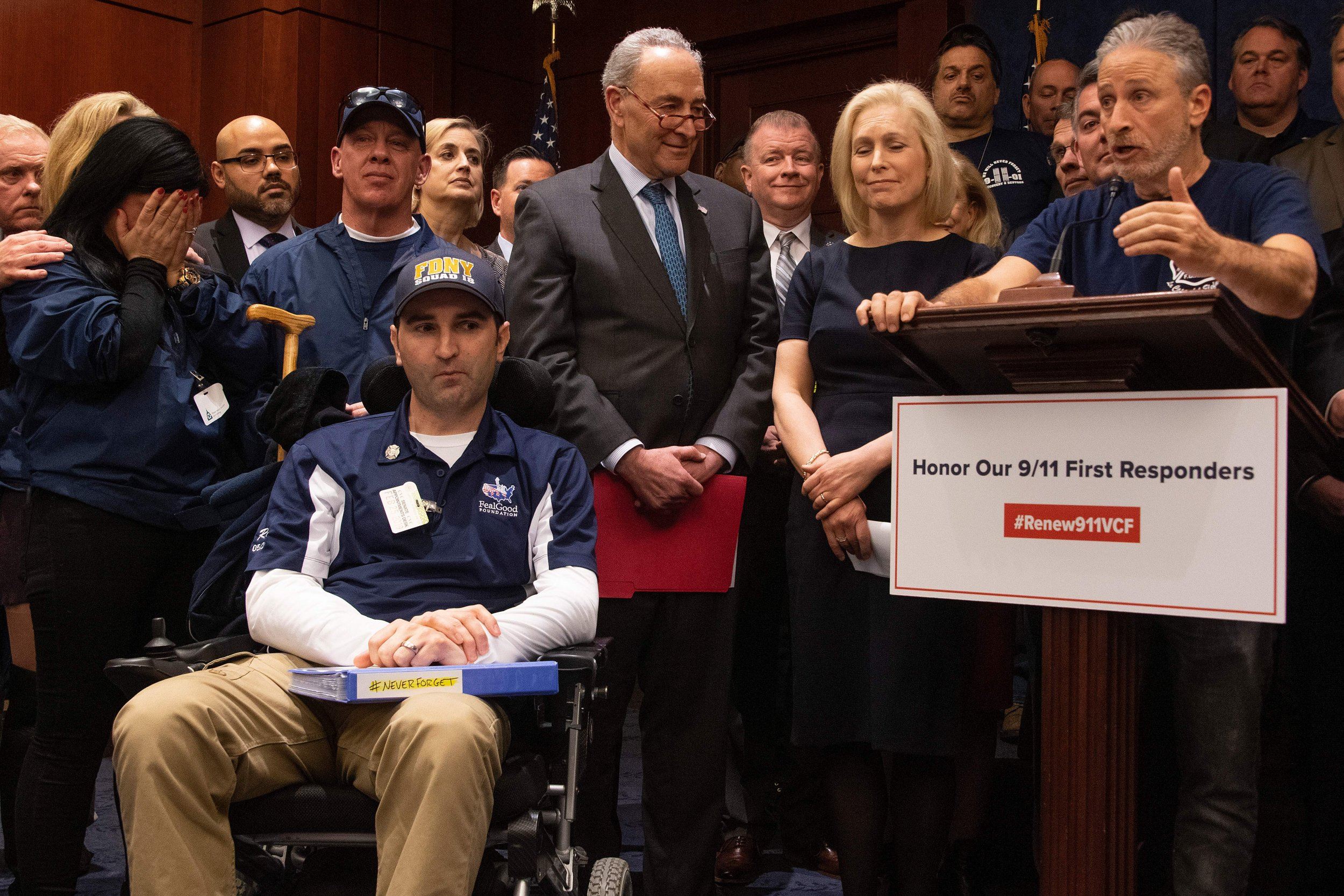 9 11 First Responders Fight Congress For Compensation As