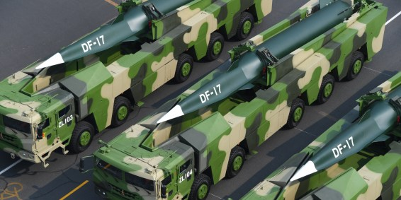 China's Hypersonic Missiles, aka 'Carrier Killers,' Are a 'Holy S ...