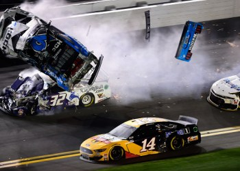 Ryan Newman's fiery crash on final lap of Daytona 500 has followers, drivers hoping for the best