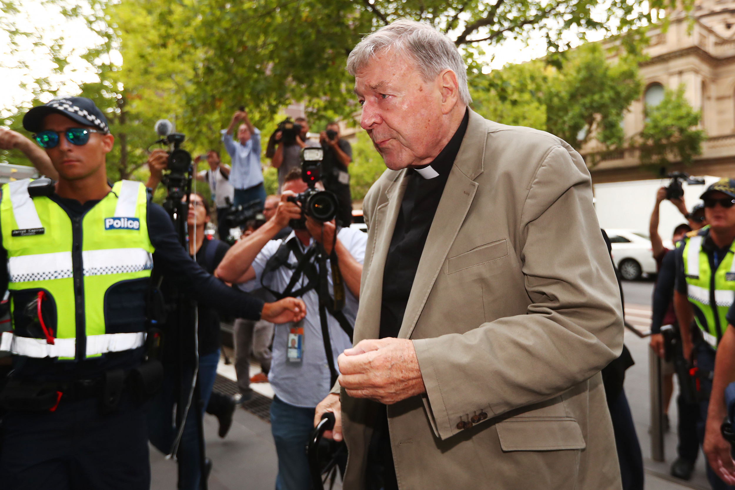 Child sex conviction of Pope Francis' former treasurer overturned by Australian High Court