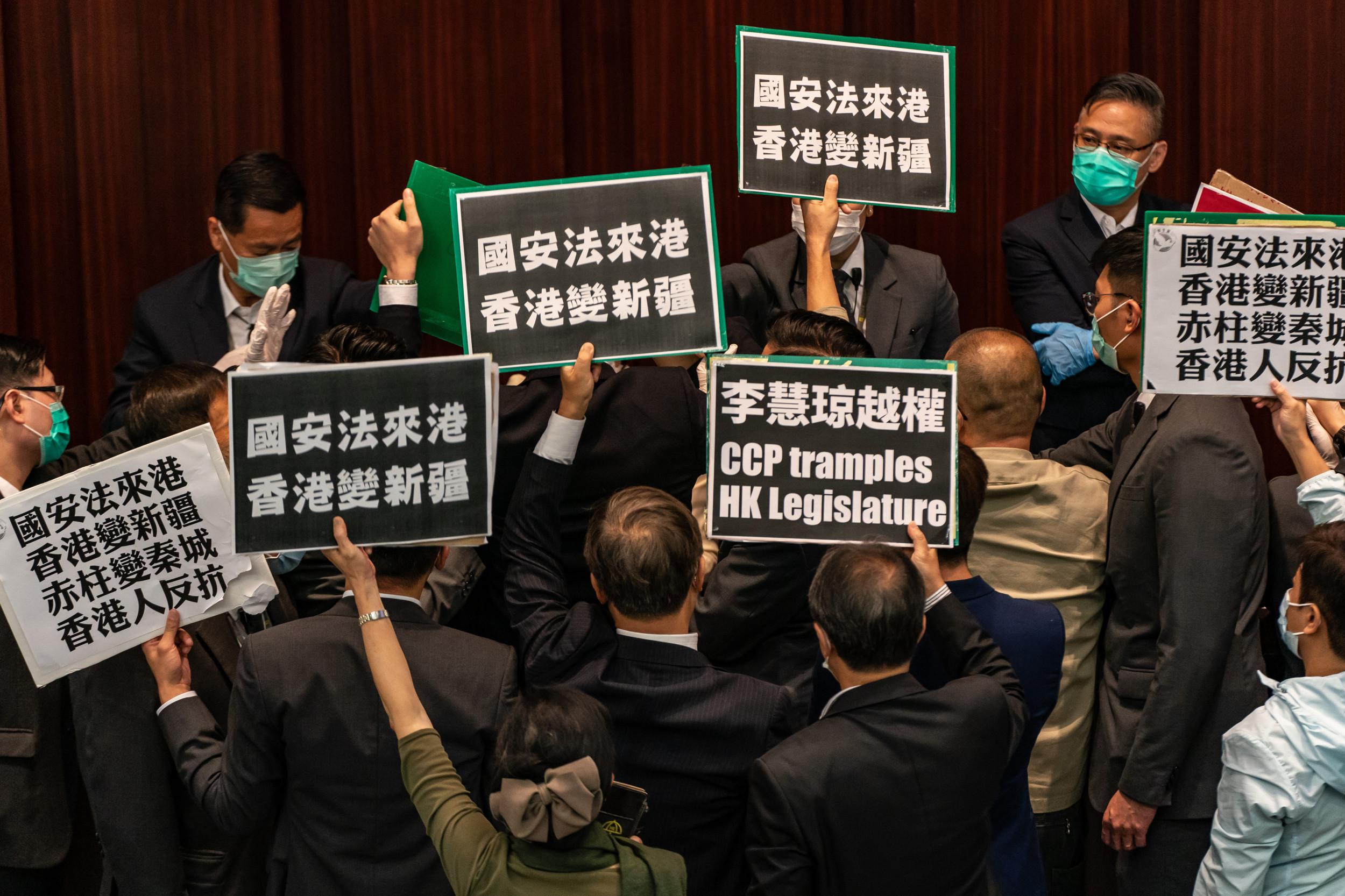 China will fight back if U.S. intervenes in Hong Kong, Beijing warns