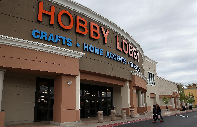 Hobby Lobby Boycott Calls After 'Vote Trump' Display ... on Hobby Lobby id=87977