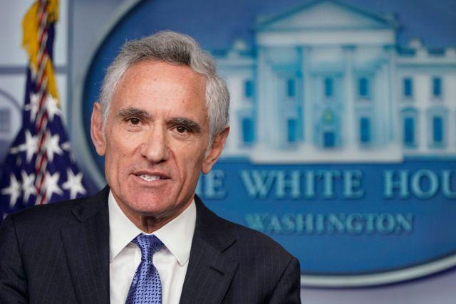 Dr. Scott Atlas at the White House