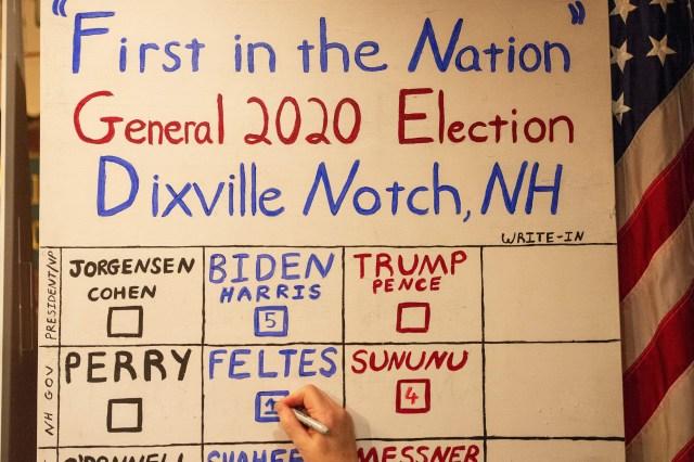 Dixville Notch New Hampshire
