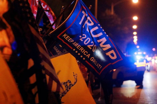 Donald Trump, Joe Biden, Anthony Scaramucci, inauguration