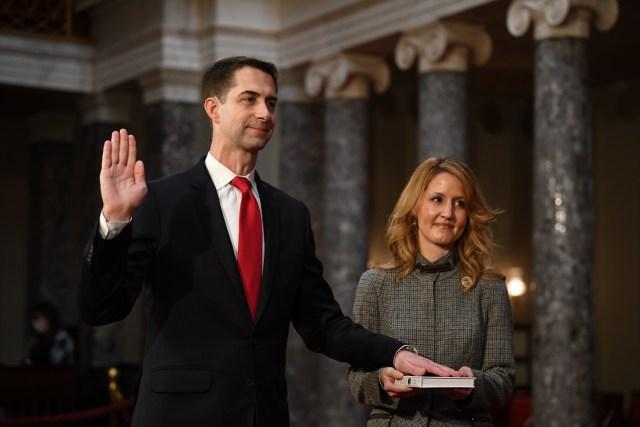 Tom Cotton sworn into U.S. Senate