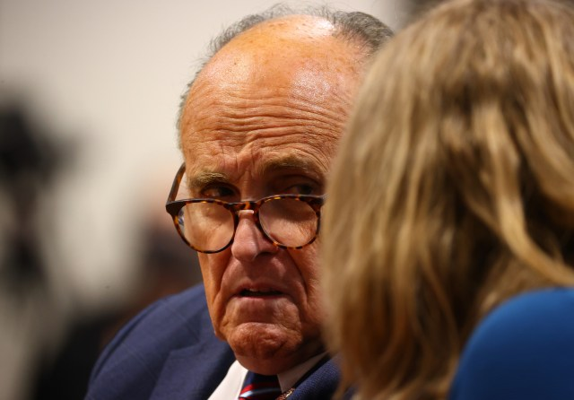 Giuliani at the Michigan House Oversight Committee