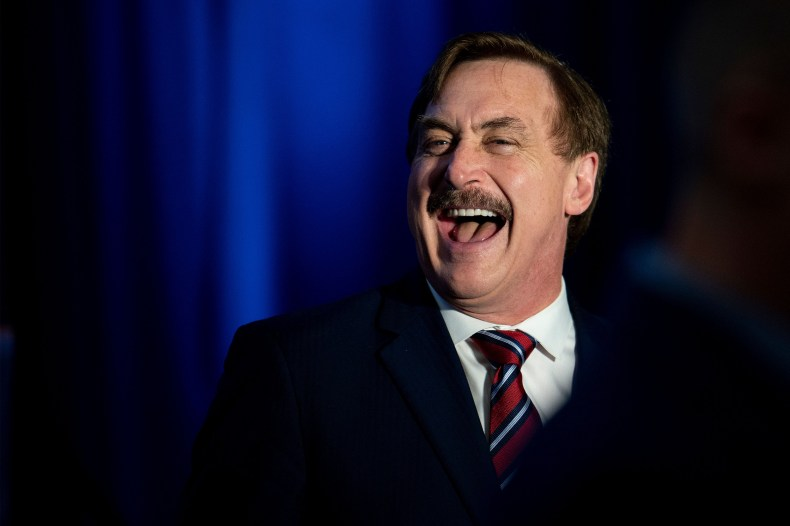 mypillow ceo mike lindell welcomes