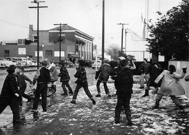 1932: Snowfall in Los Angeles
