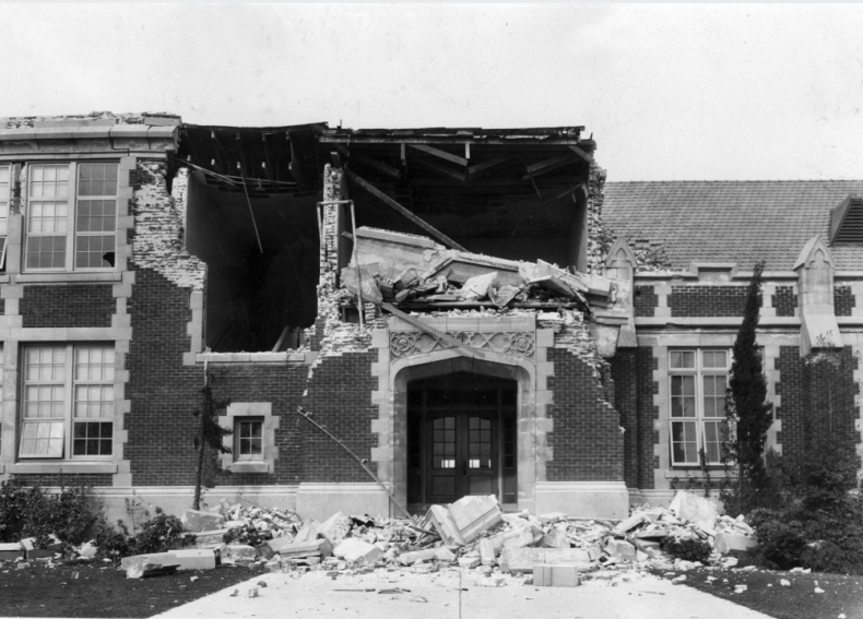 1933: Long Beach earthquake