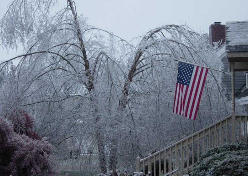 2002: Blizzards and ice storms throughout the U.S.