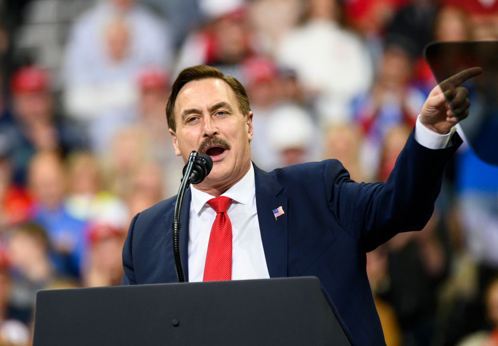 dominion sues mike lindell for 1 3