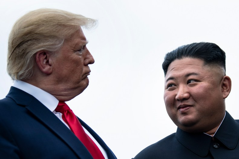 Donald Trump Kim Jong Un John Bolton