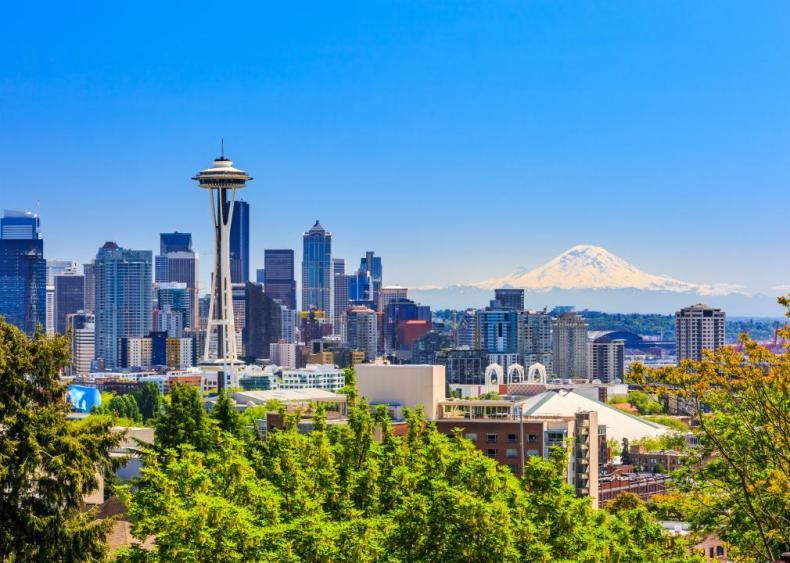 #9. Seattle-Tacoma-Bellevue, Washington (tie)