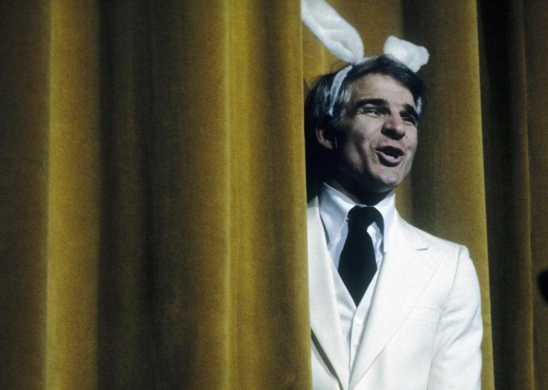 1979: Steve Martin forgets his pants