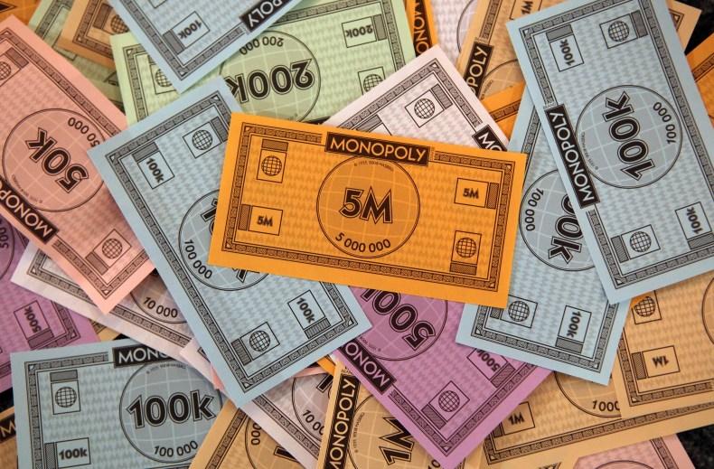 money cash taxes IRS milliionaires