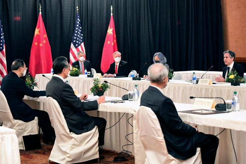 U.S.-China summit in Alaska on March 18