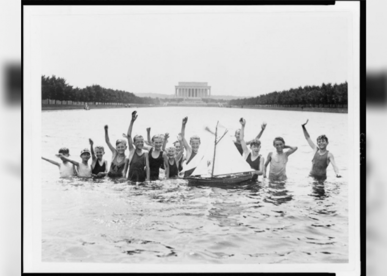 A dip at the National Mall