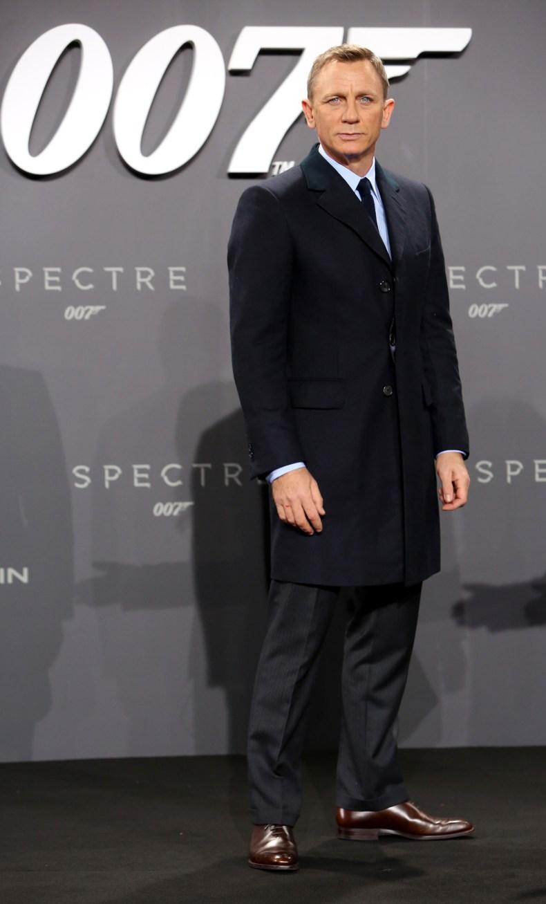 Daniel Craig at Spectre premiere
