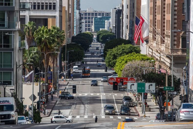 Los Angeles California March 2020