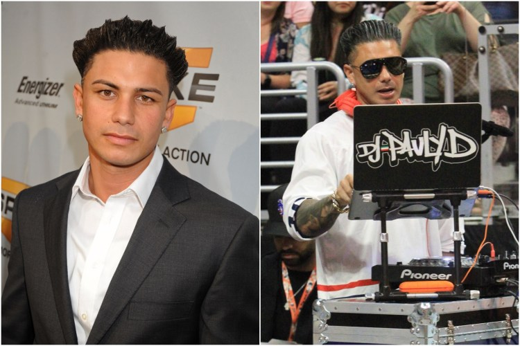 Pauly D then and now
