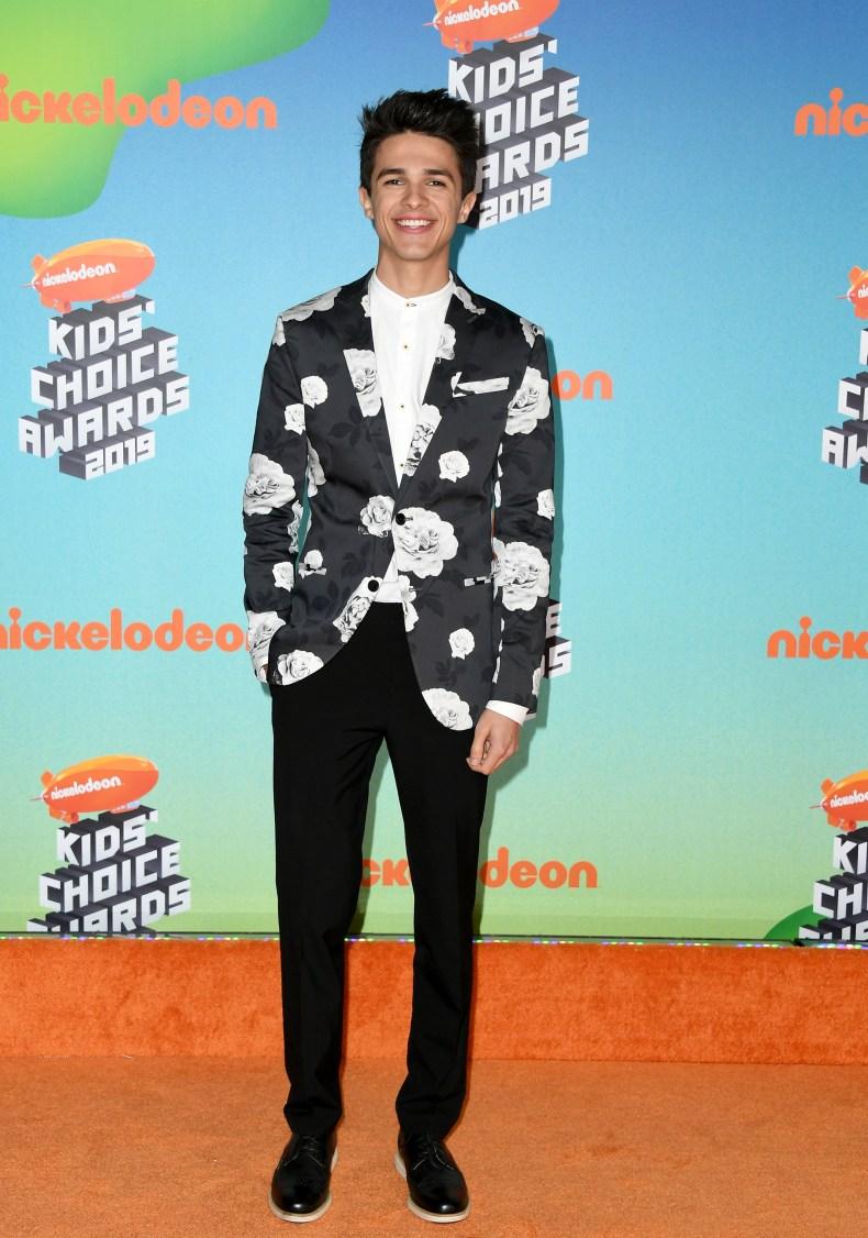 Brent Rivera at Nickelodeon Awards
