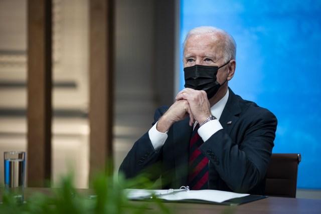 Biden in White House