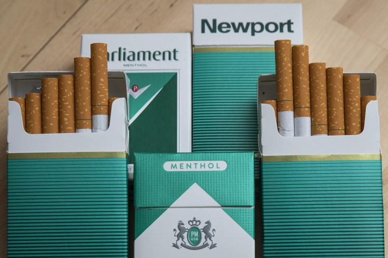 Menthol cigarettes in NYC in 2018