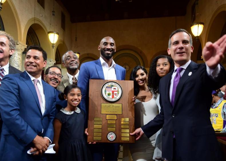 2016: Bryant honored with his own day