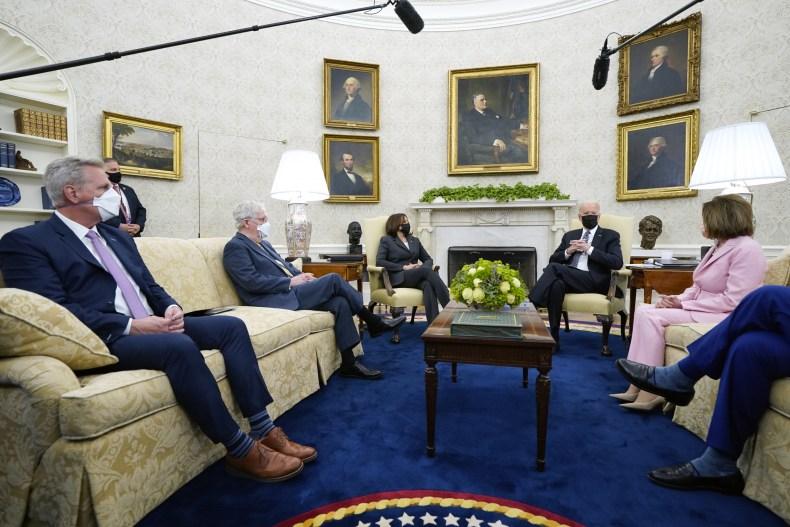 Biden Seeks Infrastructure Deal