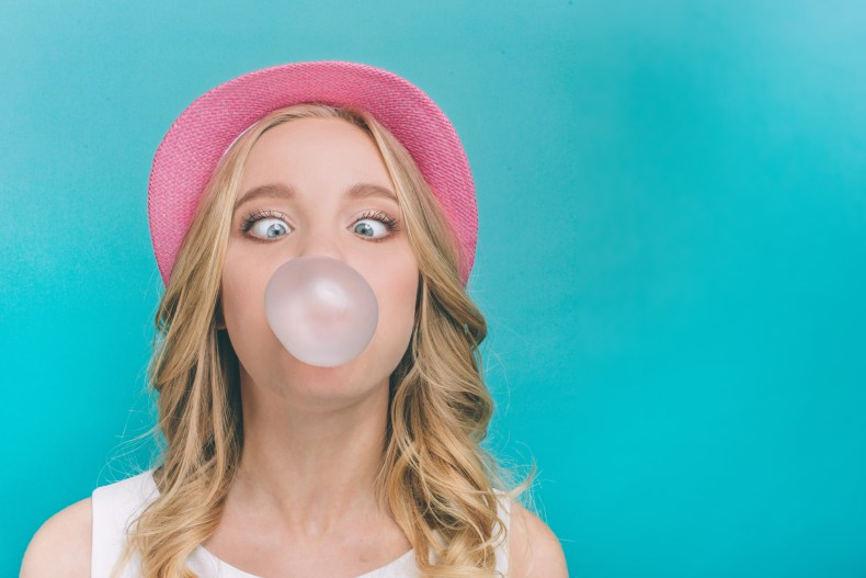 Chewing gum takes seven years to digest