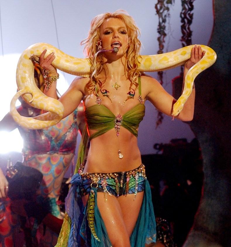 Britney Spears at 2001 MTV VMAs