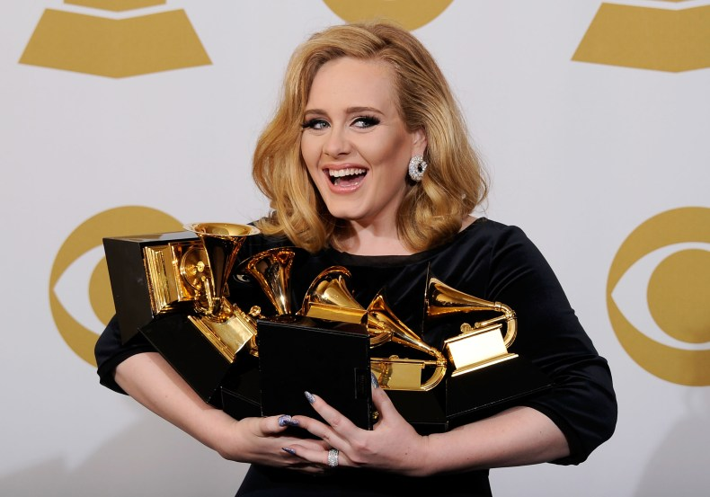 Adele wins at Grammys
