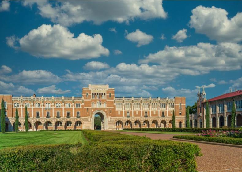 #1. Rice University