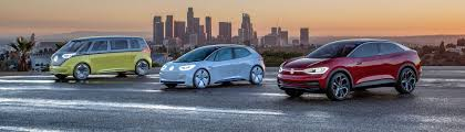 The Volkswagen Group's Electric Cars