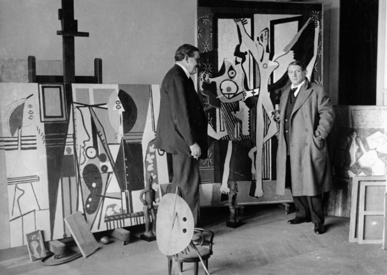 1912: Moving to collage, Synthetic Cubism