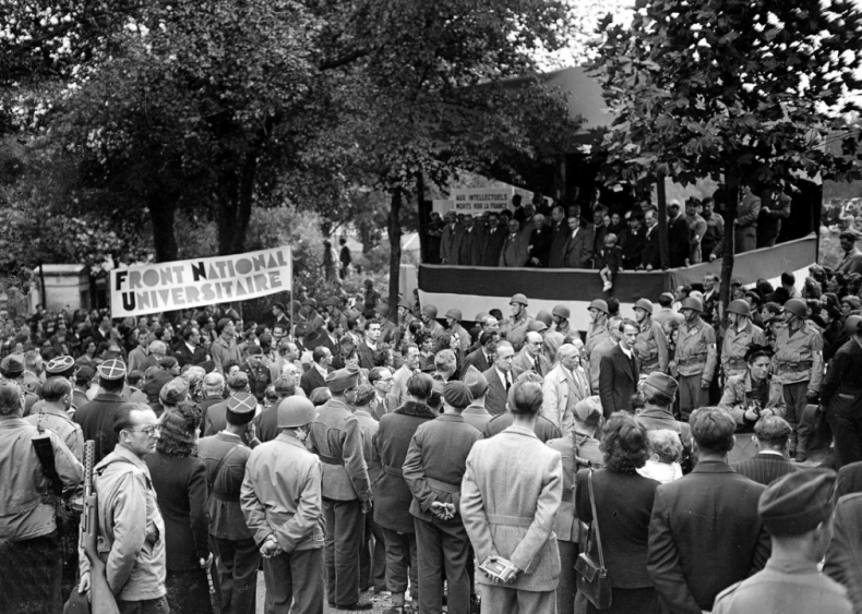 1944: Joining the French Communist Party