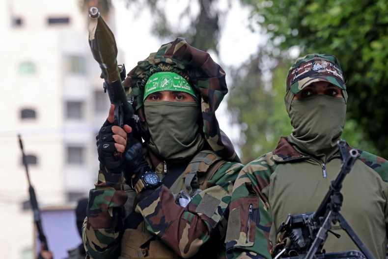 Members of Al-Qassam Brigades