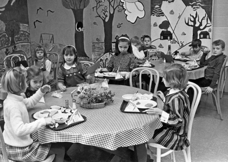 1962: National School Lunch Week established