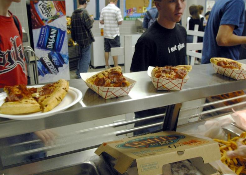 2000s: Fast food vendors amp up their lunchroom presence