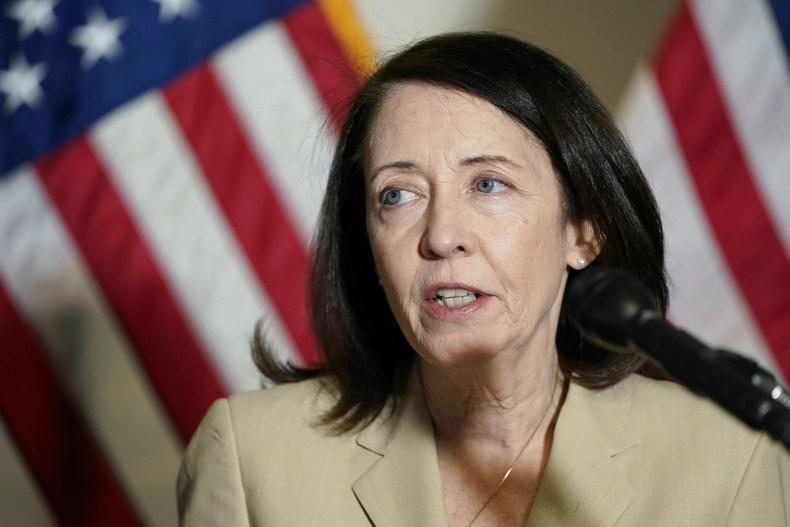 Sen. Maria Cantwell Capitol Hill